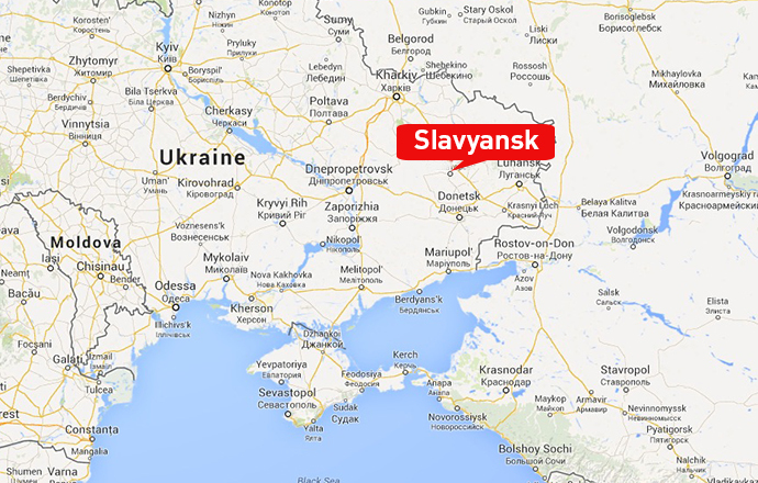 Slavyansk Map